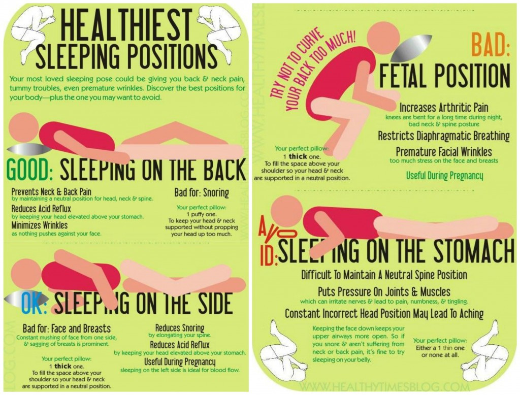 Wellness For Life Chiropractic Sleeping Positions Good